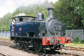 Swindon and Cricklade Railway - Image: Hudswell Clarke 1464 (5588697404)