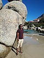 Huge rock at Boulders beach, Cape tTown.jpg
