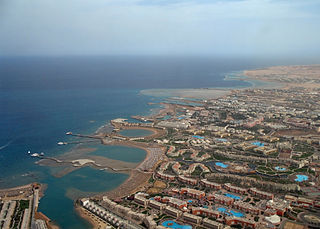 Hurghada City in Red Sea, Egypt