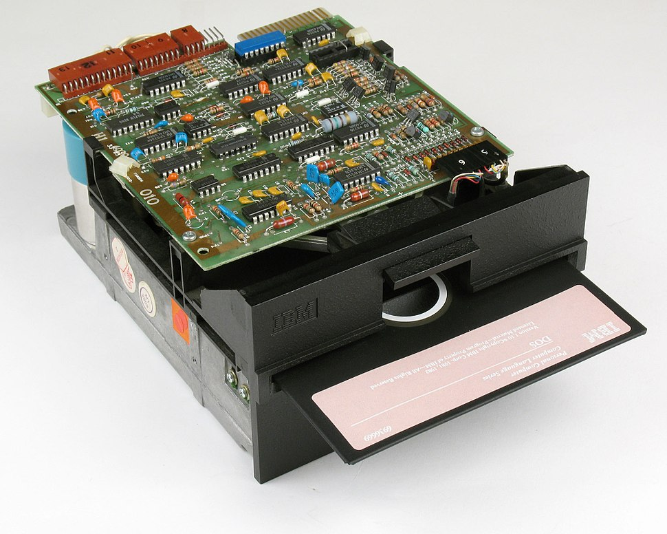 IBM Floppy Drive With DOS