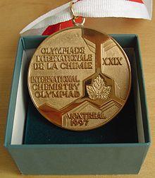 مدال المپیاد شیمی - کانادا