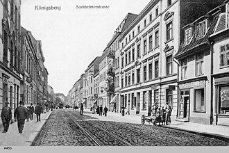 Sackheim - Image: ID003551 A453 Sackheimer Strasse