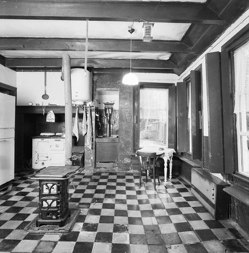 Tegelvloer Onder Keuken : interieur, keuken, overzicht tegelvloer – midwolda – 20298622 – rce