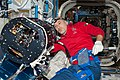 ISS-36 Luca Parmitano works on the Multi-User Droplet Combustion Apparatus (2).jpg