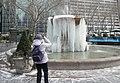 Ice fountain Bryant Park jeh.jpg