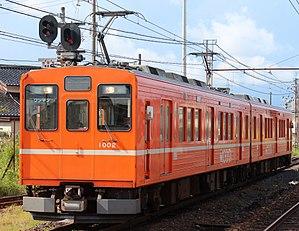 Ichibata Electric Railway - Image: Ichibata 1002 20150913