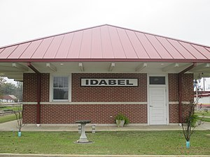 Idabel, Oklahoma - Idabel train station