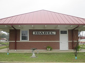 Idabel, Oklahoma - Idabel train station