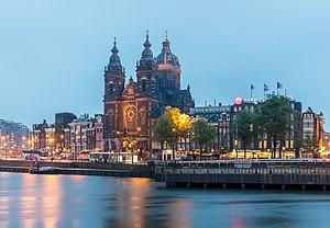 Iglesia de San Nicolás, Ámsterdam, Países Bajos, 2016-05-30, DD 04-06 HDR