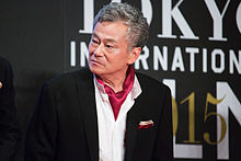 "Ikeda Shuichi ""The World of Gundam"" at Opening Ceremony of the 28th Tokyo International Film Festival (22405153956).jpg"