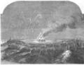 Illustrirte Zeitung (1843) 20 309 1 Das Freudenfeuer in Plymouth.png