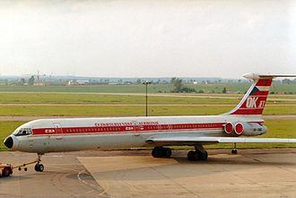 ČSA Flight 540 - An CSA Il-62, similar to the accident aircraft