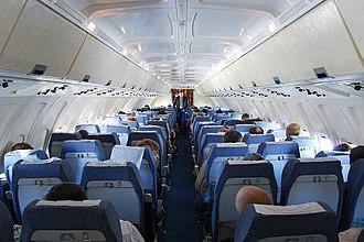 Ilyushin Il-62 - Il-62M cabin