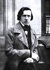 Only known photograph of Chopin, by Bisson, ca. 1849