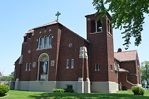 Spencer Township, Lucas County, Ohio - Immaculate Conception Catholic Church