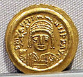 Impero romano d'oriente, giustino II, emissione aurea, 565-578.JPG