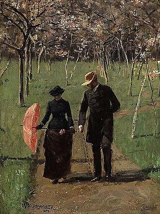 William Brymner - Image: In the Orchard (Spring) William Brymner