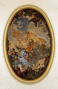 Coronation of Mary by Giovanni Battista Tiepolo