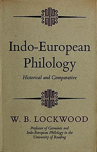 Indo European philology historical and comparative 1969.jpg