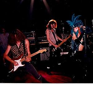 Inger Lorre - Inger Lorre performing live, 1990.