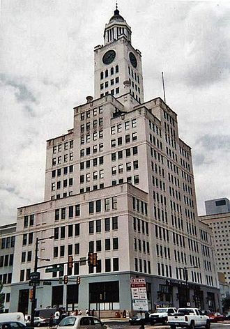 The Philadelphia Inquirer - The Inquirer Building, formerly the Elverson Building, the home of the newspaper from 1924–2011