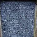 Inscription on William Cunningham's gravestone. Rector of Irvine Grammar. Died 1766. Old Parish Church.jpg