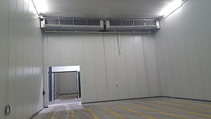 Controlled atmosphere - Controlled atmosphere room