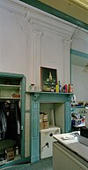 interieur, begane grond, keuken (linker achterkamer), overzicht schouw - groningen - 20335514 - rce
