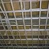 interieur, begane grond, linker voorkamer, plafond, beschilderde moerbalken - 20000803 - rce