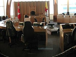 Legislative Assembly of Nunavut - Interior of the Legislative Assembly of Nunavut