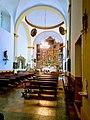 Interior de la Iglesia de San Nicolás de Bari de Quintana de Raneros.jpg