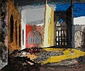 Interior of Coventry Cathedral, 15 November 1940 - John Piper - 1940.jpg