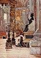 Interior of St. Peter's Basilica by Alberto Pisa (1905).jpg