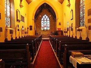 St John the Baptist Church, Reid - The interior of St John the Baptist Church