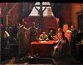 Interrogatoire de Savonarole - François Marius Granet - MBA Lyon 2014.JPG