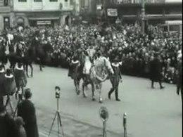 Eerste door ICA georganiseerde intocht in 1934
