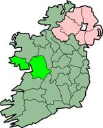 Placering af Galway