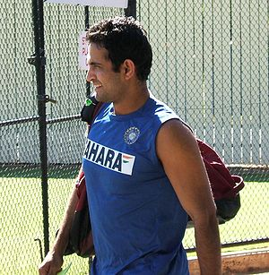 Irfan Pathan at Adelaide Oval