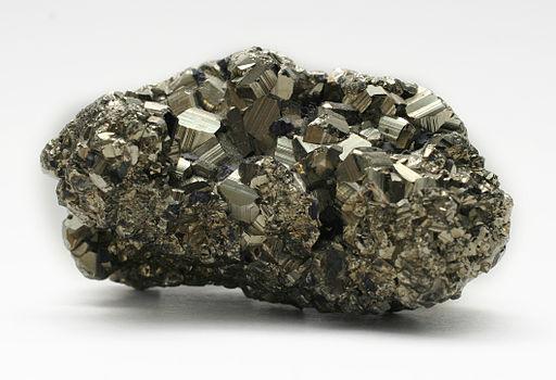 Iron disulfide pyrite