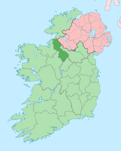 Island of Ireland location map Leitrim.svg