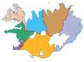 Islanda - Distretti elettorali.png