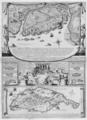 Isle de Cayenne & Isle de Saint-Christophe,1667.png