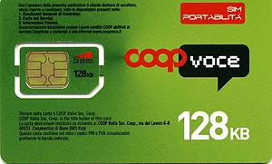 CoopVoce - CoopVoce SIM card