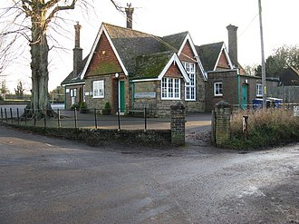 Itchingfield - Image: Itchingfield School geograph.org.uk 1071438