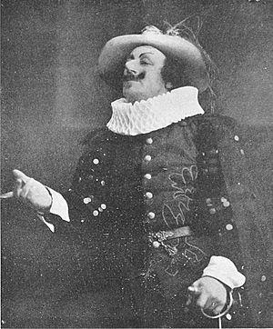 Ivan Hedqvist som Cyrano de Bergerac