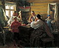 Ivan Kulikov Winter evening 1907.jpg