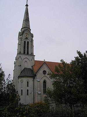 Banat Bulgarians - The Roman Catholic Church in Ivanovo, Serbia