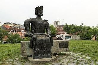 Kruševac - Image: J26 147 Lazar Denkmal