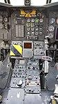 JASDF CH-47J(LR)(37-4489) cocpit console at Kasuga Air Base November 25, 2017 04.jpg
