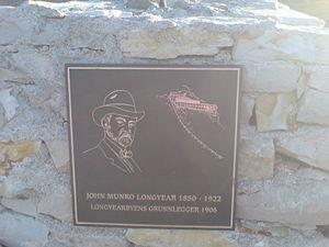 John Munro Longyear - Memorial to John Munro Longyear in Longyearbyen